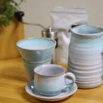 茨城の笠間焼でおすすめの陶芸教室【製陶ふくだ】 陶芸で自作のコーヒーカップを!